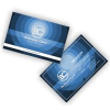 night-ocean-business-card-template