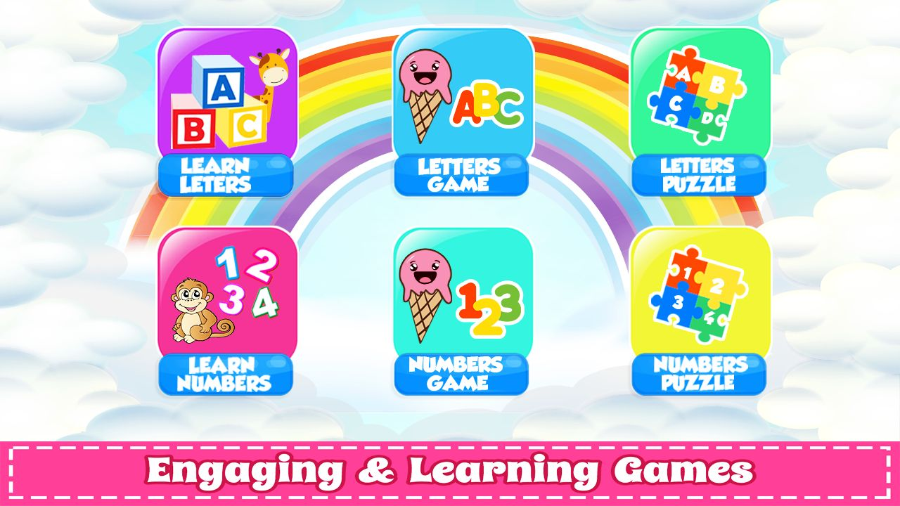 Learn Numbers And Letters with Ice Cream - Unity Screenshot 1