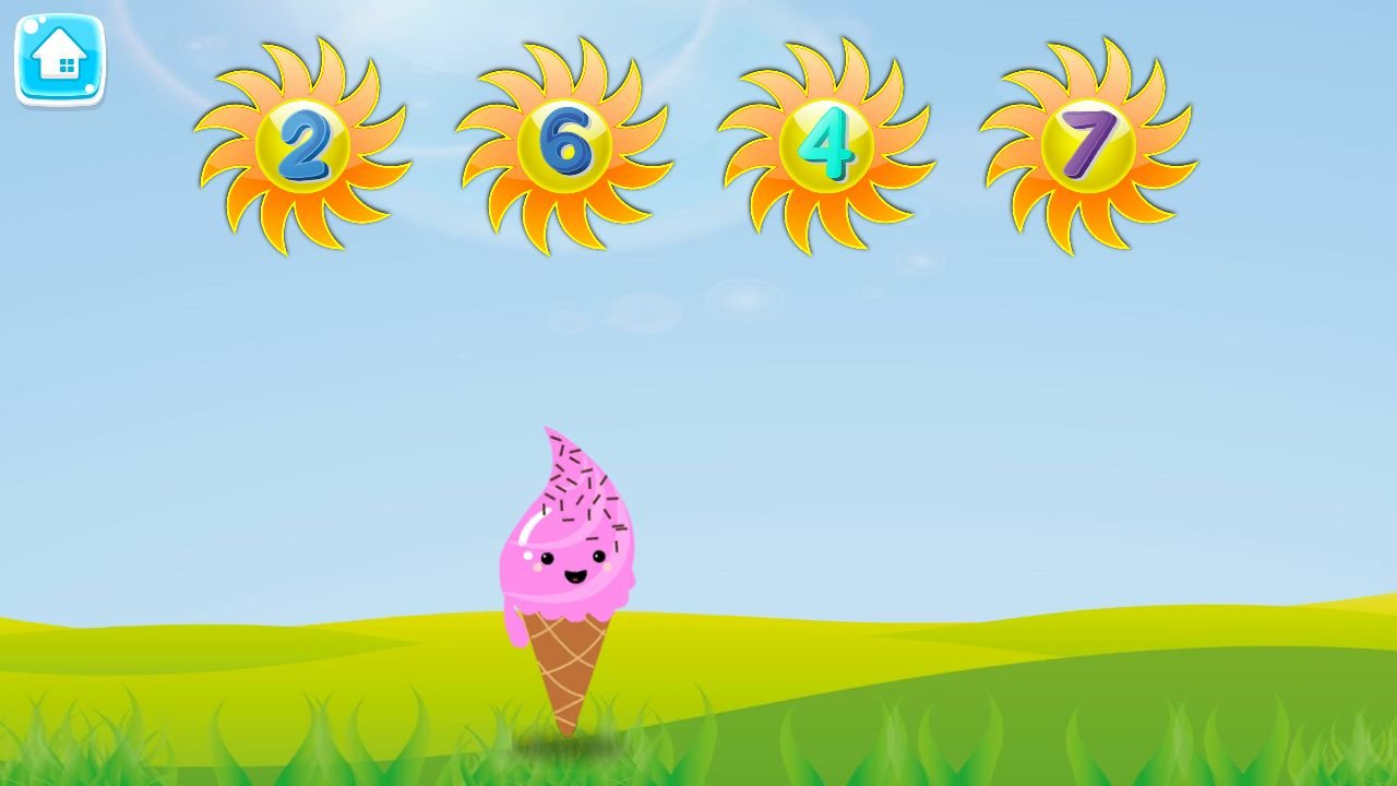 Learn Numbers And Letters with Ice Cream - Unity Screenshot 2