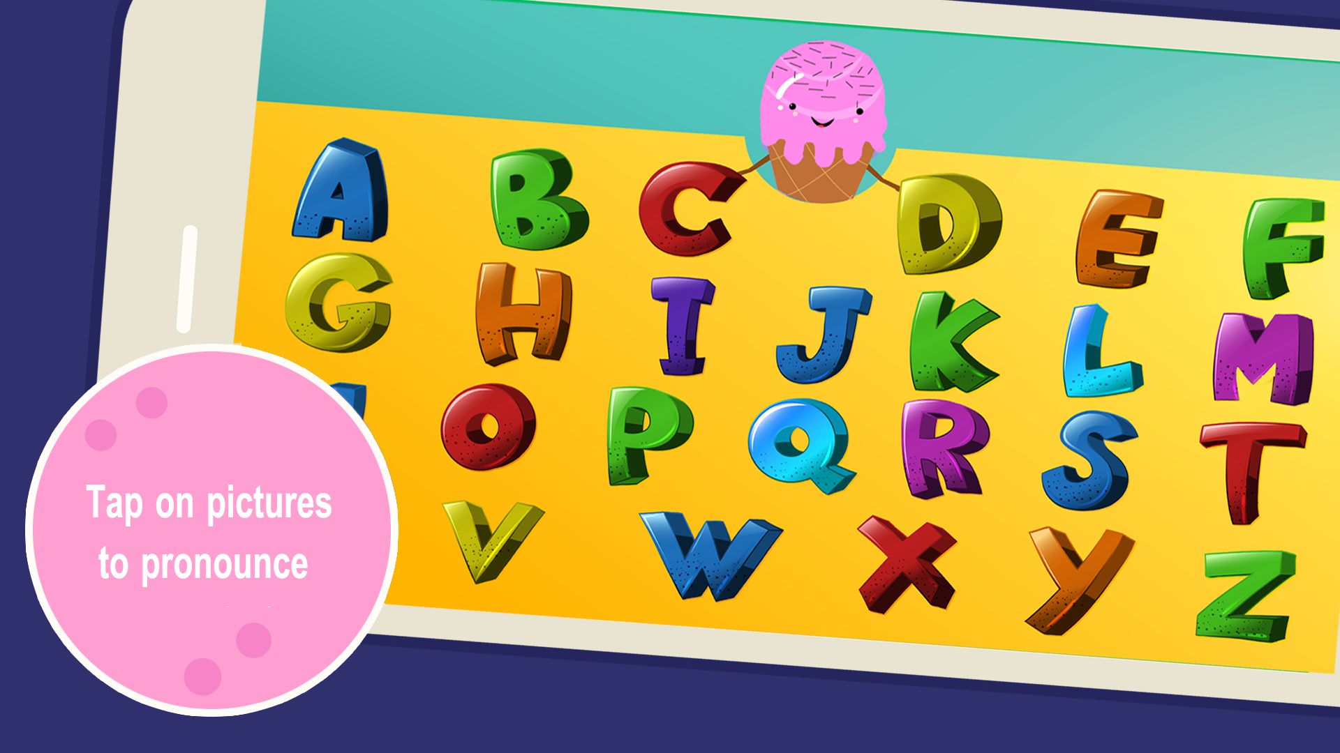 Learn Numbers And Letters with Ice Cream - Unity Screenshot 4