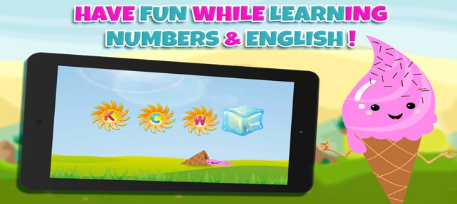 Learn Numbers And Letters with Ice Cream - Unity Screenshot 6