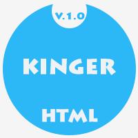 Kinger - Portfolio Html5 Bootstrap Template