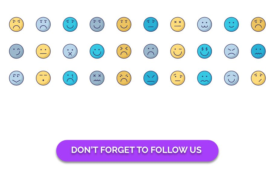 140 Emoticon or Emoji Fill Icons Pack  Screenshot 3