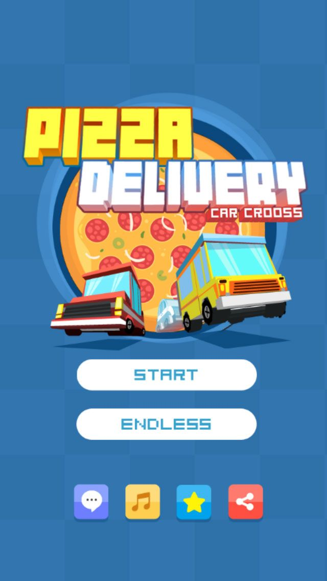 Pizza Delivery - Buildbox Game Template Screenshot 1