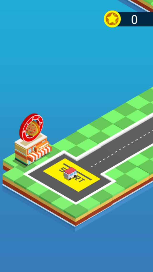 Pizza Delivery - Buildbox Game Template Screenshot 3