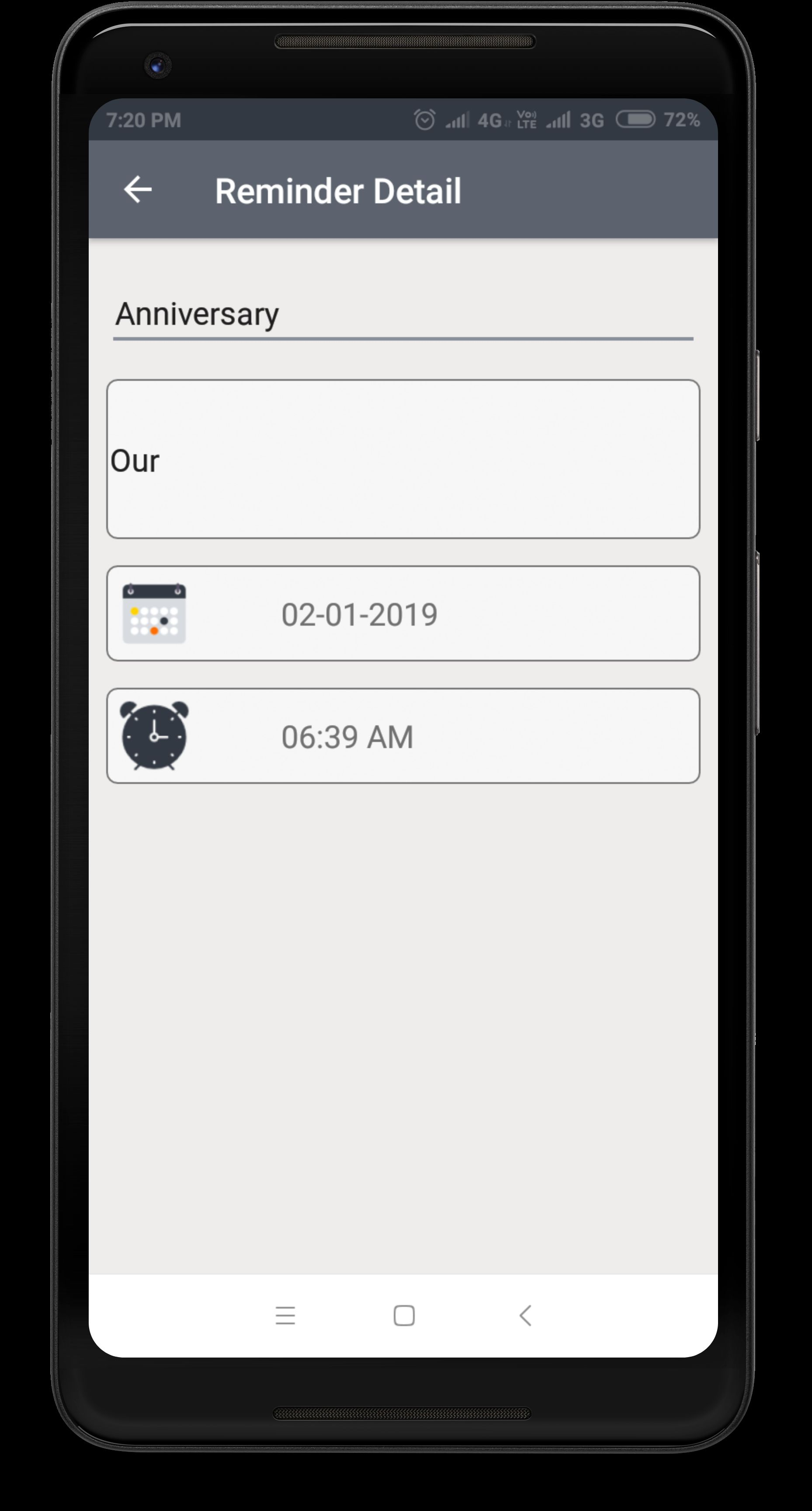 Daily Expense Manager - Android Source Code Screenshot 3