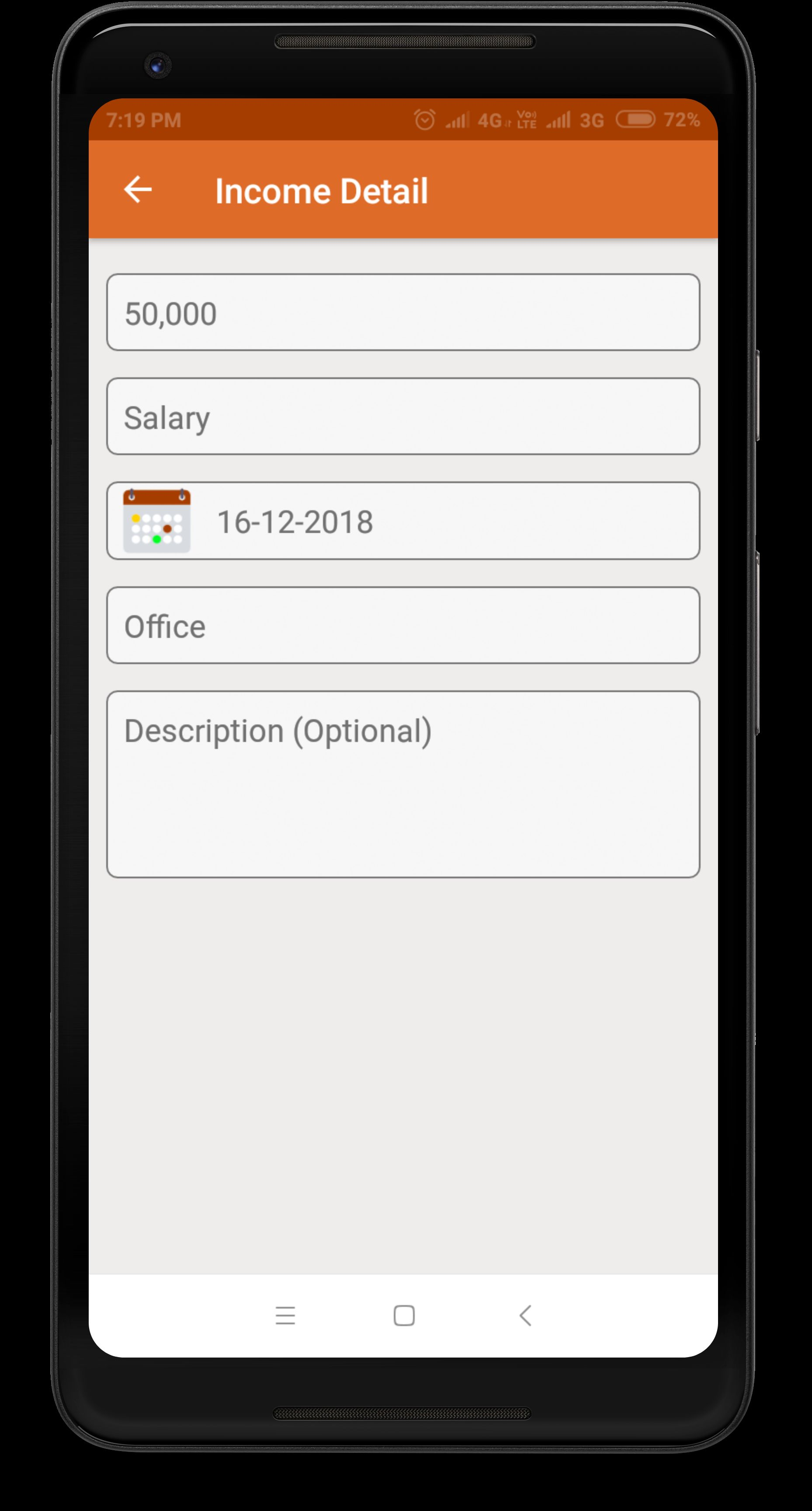 Daily Expense Manager - Android Source Code Screenshot 14
