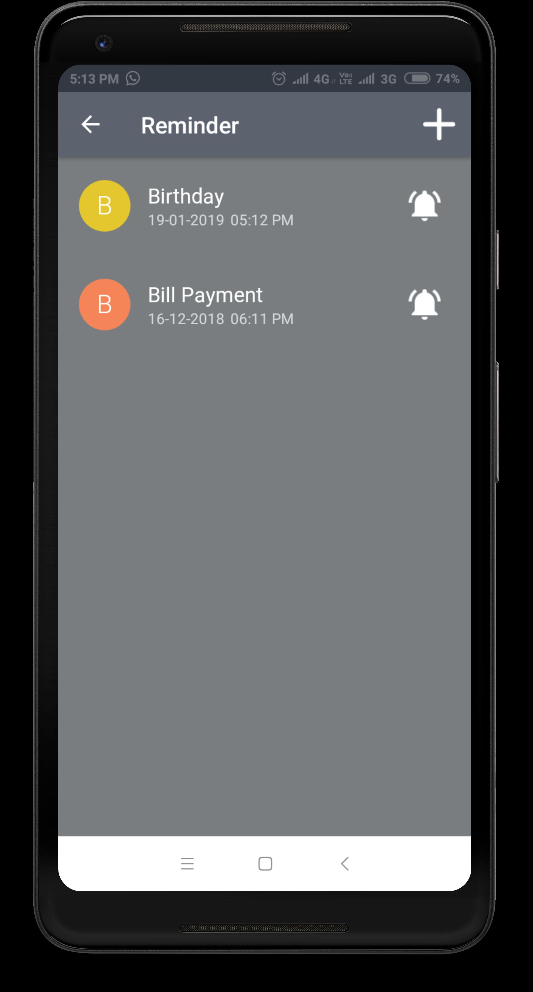 Daily Expense Manager - Android Source Code Screenshot 15