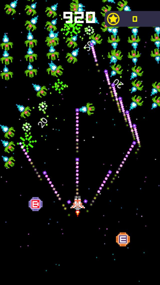 Galaga War Classic - Buildbox Game Template Screenshot 3