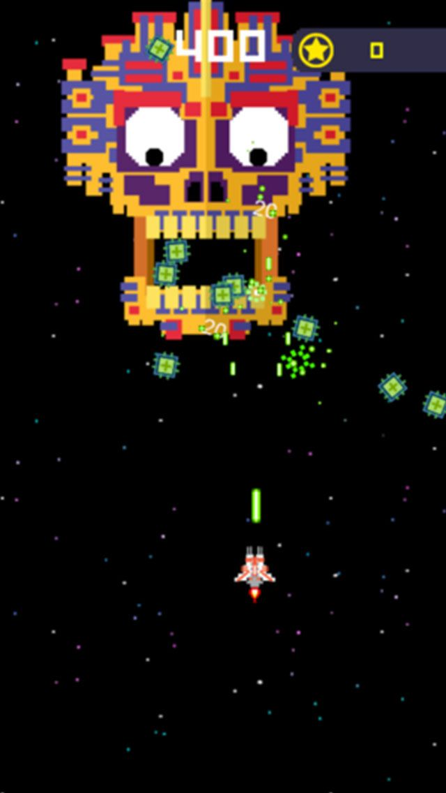 Galaga War Classic - Buildbox Game Template Screenshot 4