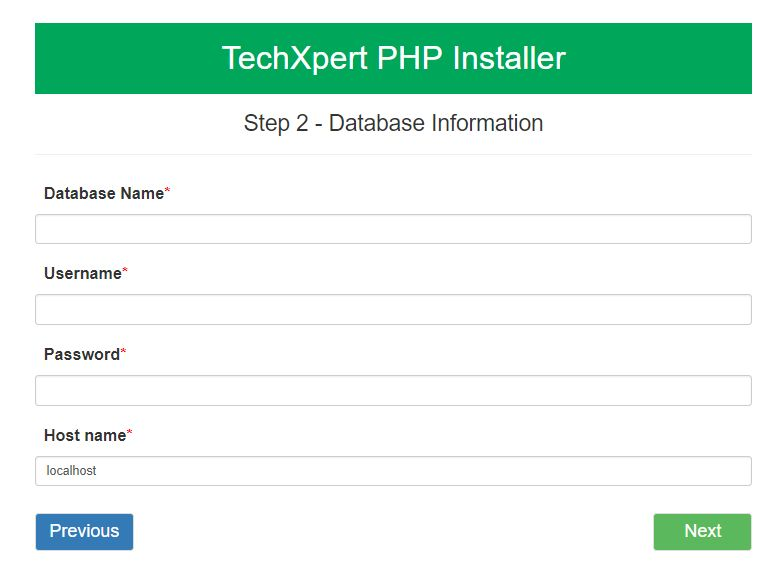 Easy PHP  Installer - Complete PHP App Installer Screenshot 2