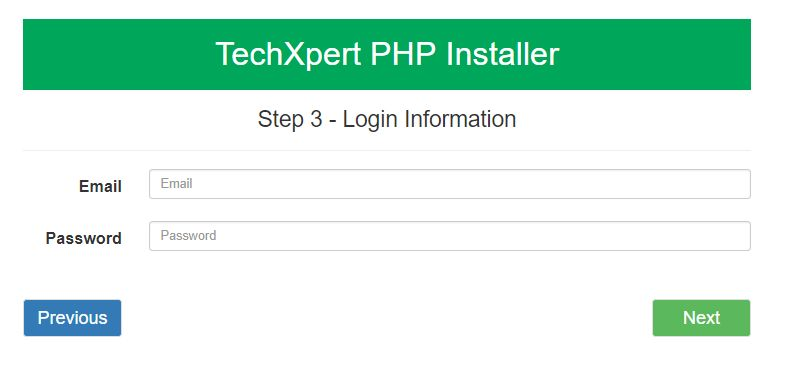Easy PHP  Installer - Complete PHP App Installer Screenshot 3