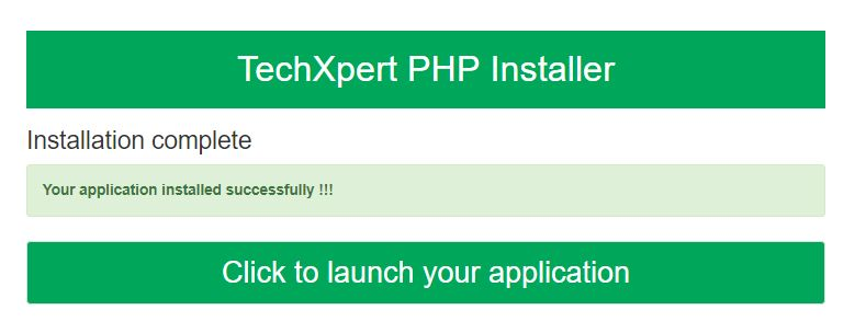 Easy PHP  Installer - Complete PHP App Installer Screenshot 4