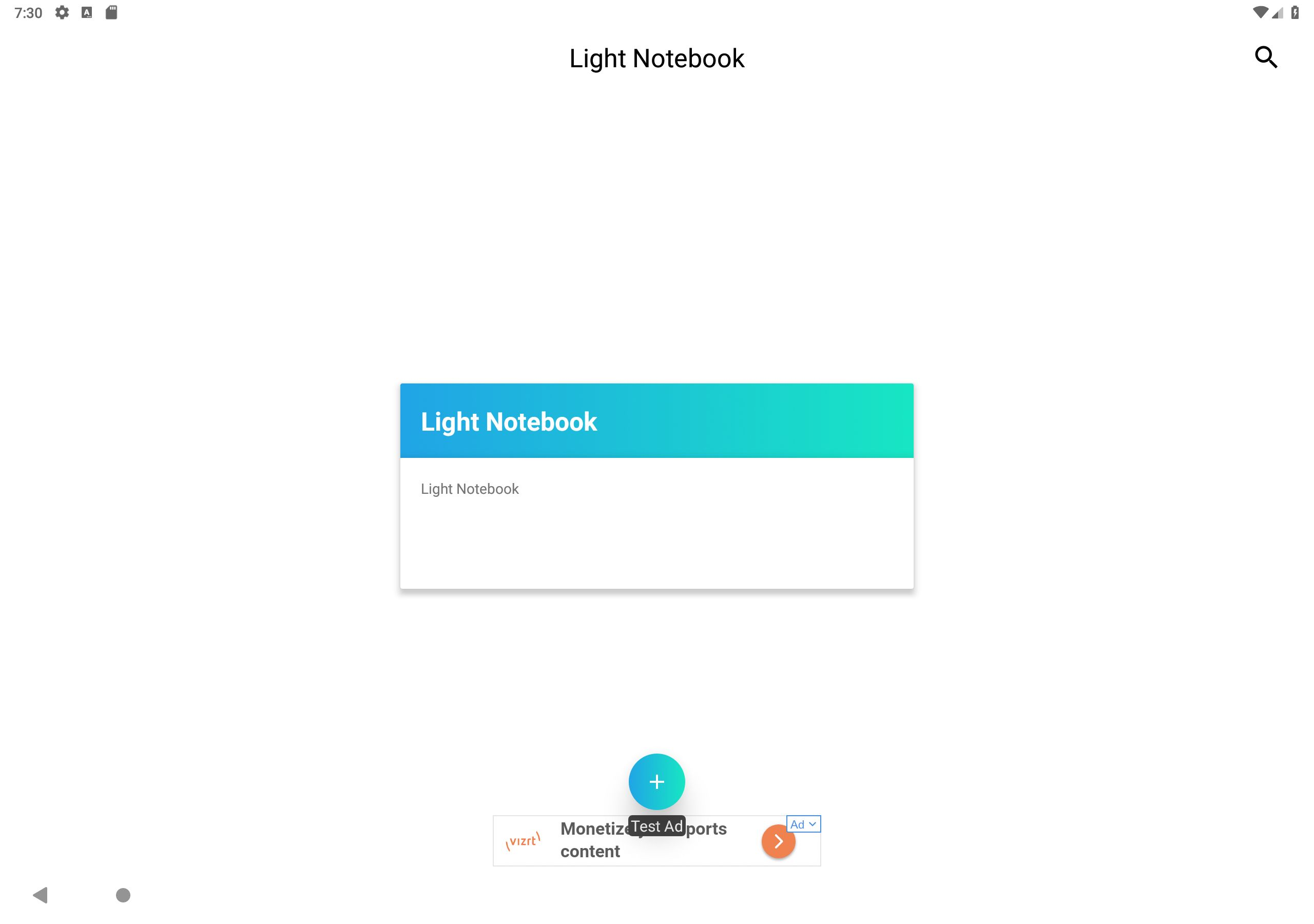 Light Notebook - Android Source Code Screenshot 10