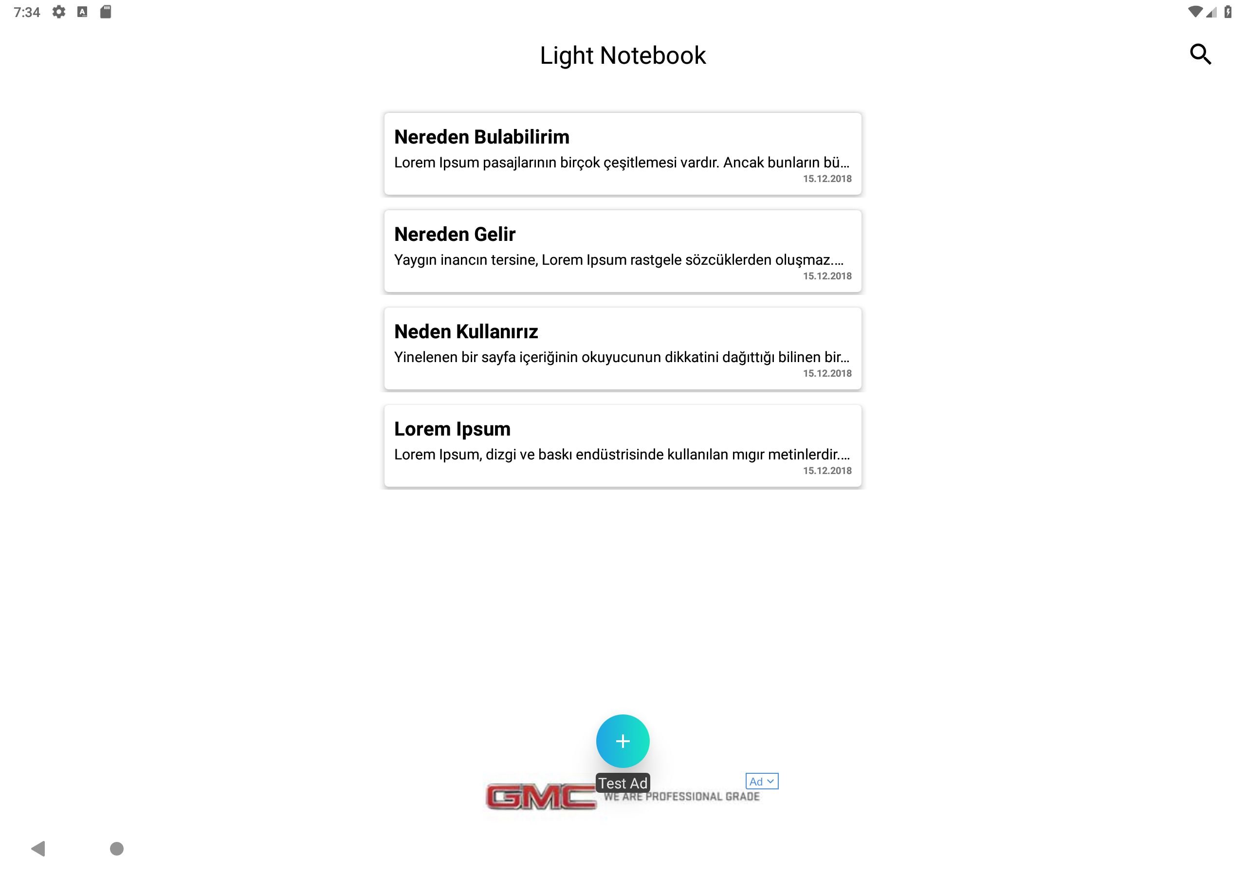 Light Notebook - Android Source Code Screenshot 14