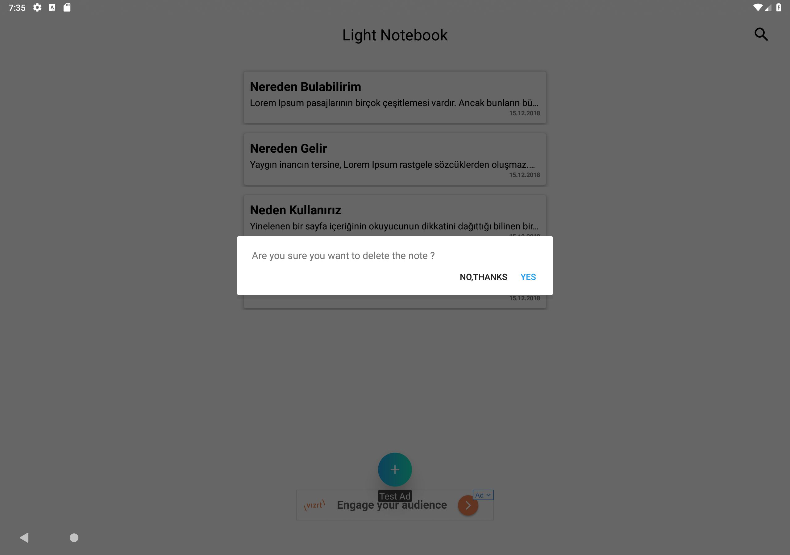 Light Notebook - Android Source Code Screenshot 17