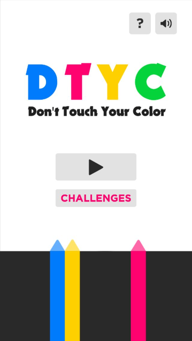 Dont Touch Your Color - Buildbox Game Template Screenshot 1