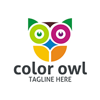 Color Owl - Logo Template