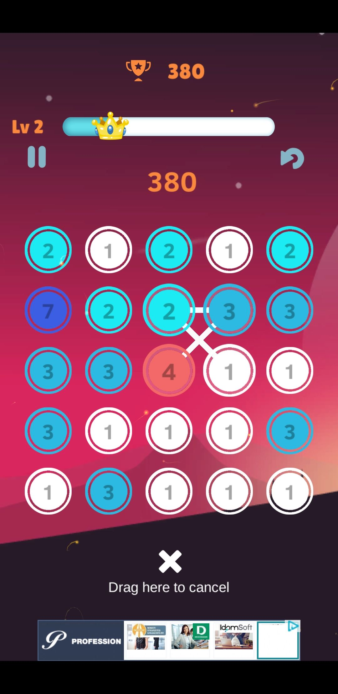 Make it 13 - Puzzle Game Unity Screenshot 4