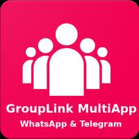 GroupLink WhatsApp And Telegram - Android App