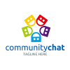 community-chat-logo-template
