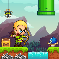 Elf Adventure Platformer Complete Unity Game