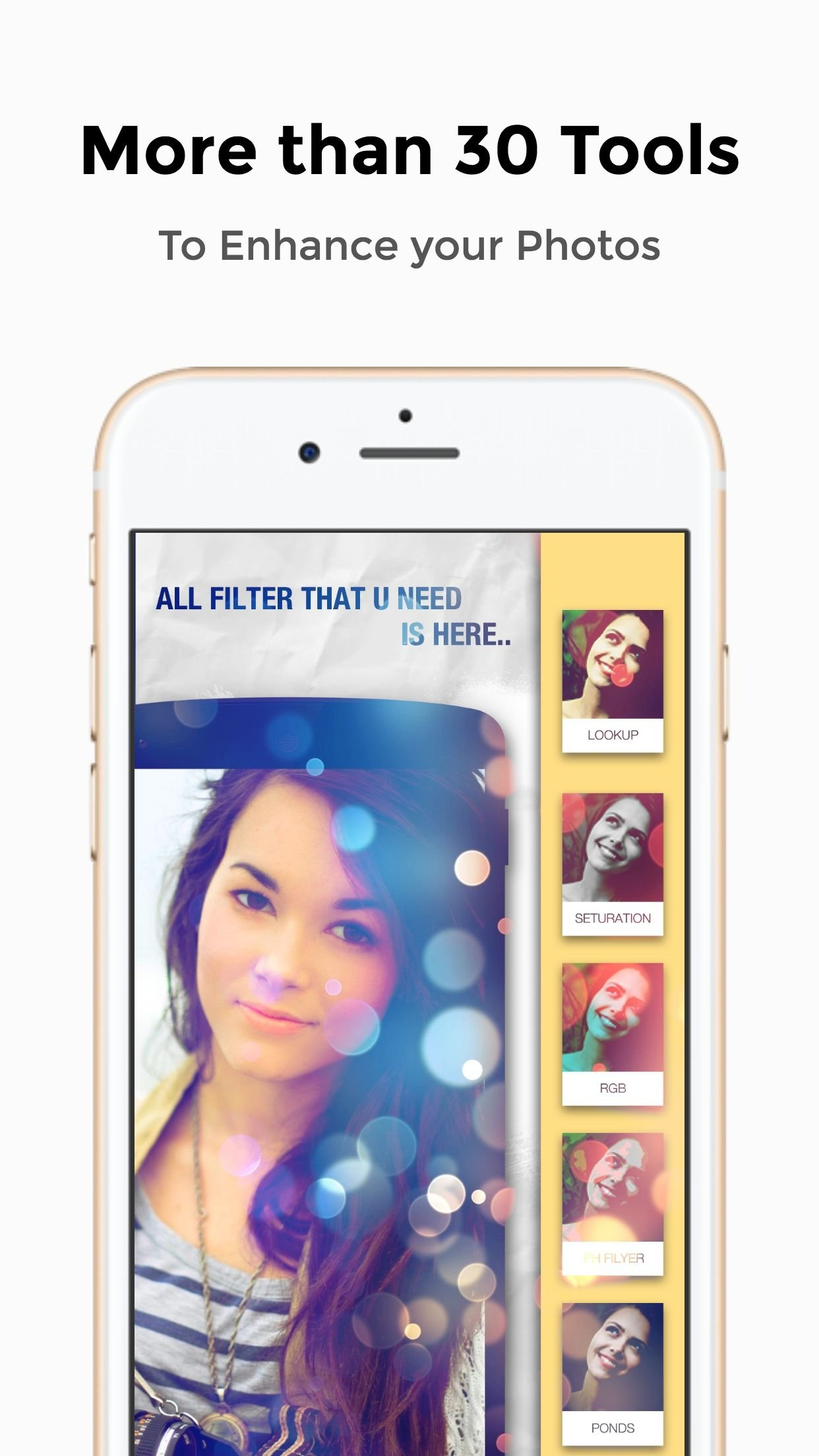 Perfect Photo Editor - iOS Source Code Screenshot 5