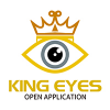 king-eyes-logo-template