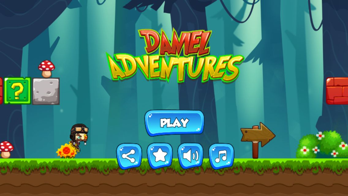 Daniel Adventures Buildbox Game Template BBDOC  Screenshot 1