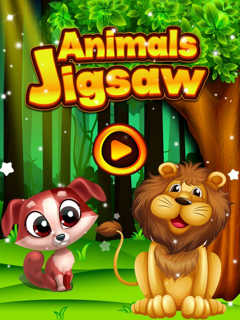 Animals Jigsaw Puzzle - iOS Source Code Screenshot 1