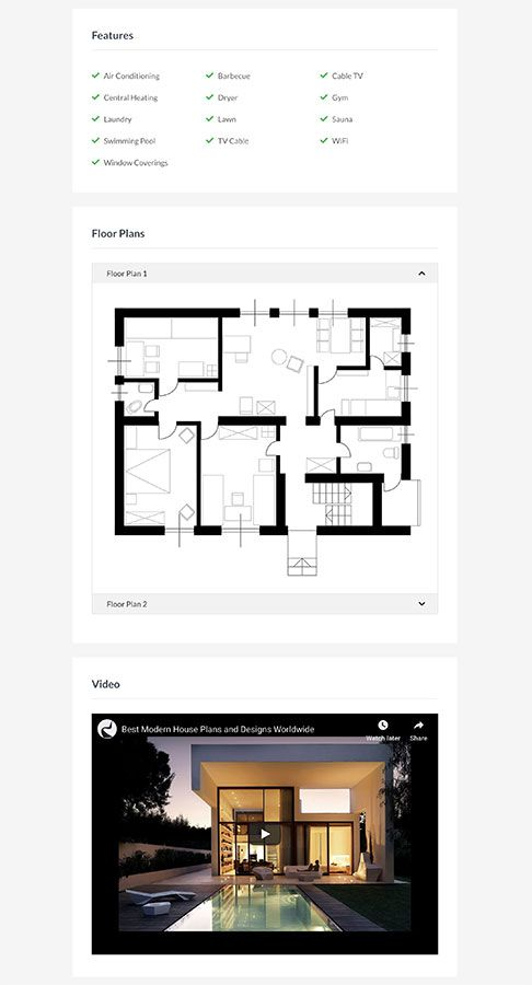 Hot Homes - Joomla Template Screenshot 3