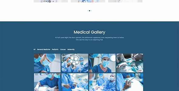 MedTime - One Page HTML Template for Medical Screenshot 4