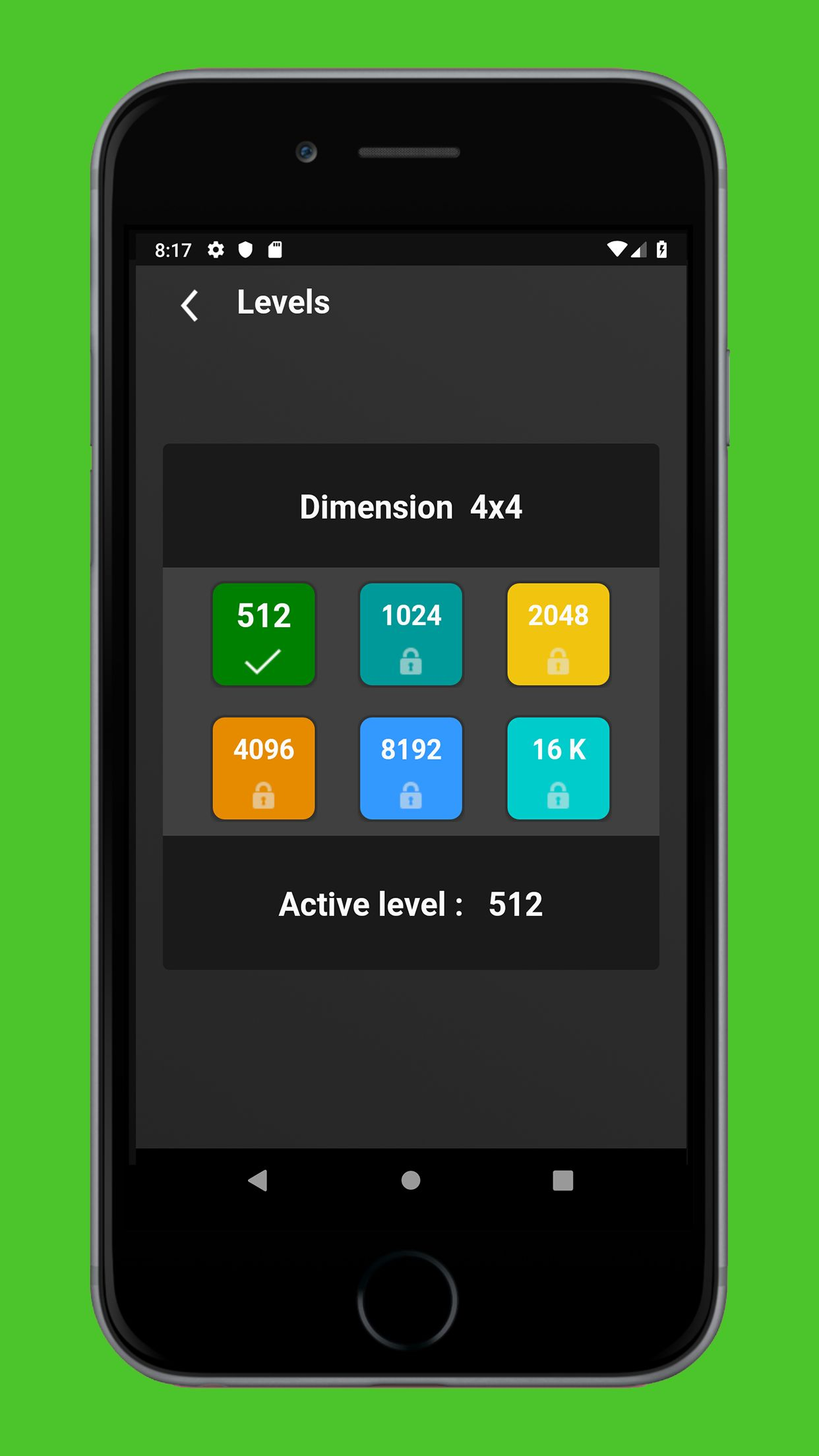 Swipe Game  Version Pro -  Android  Template  Screenshot 6