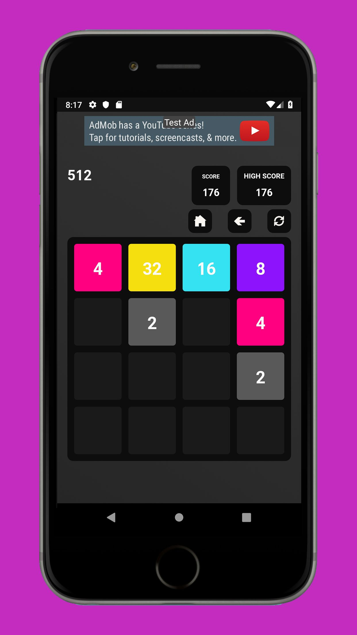 Swipe Game  Version Pro -  Android  Template  Screenshot 7