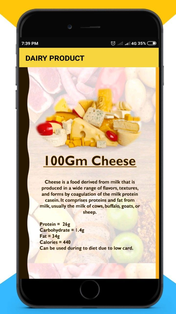Protein - Vitamins Supplement  Android Source Code Screenshot 2