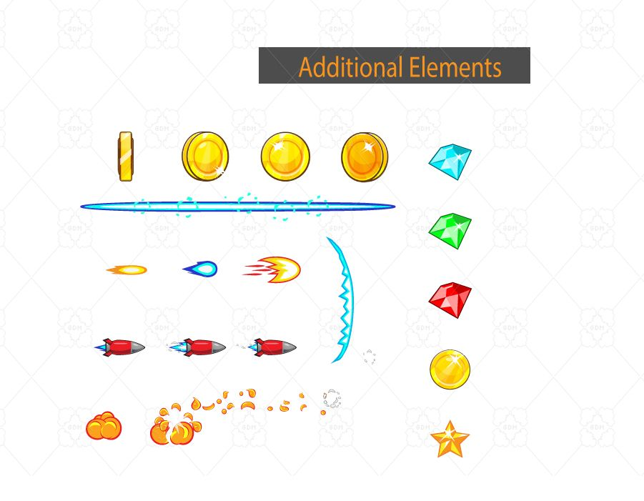 4 Directional 2D Game Sprites 01 Screenshot 3