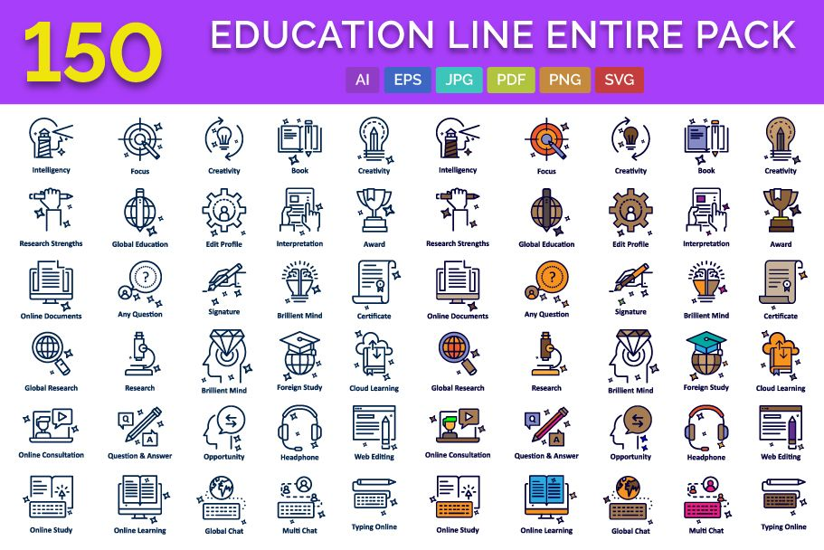 150 Education Line Entire Pack Screenshot 1