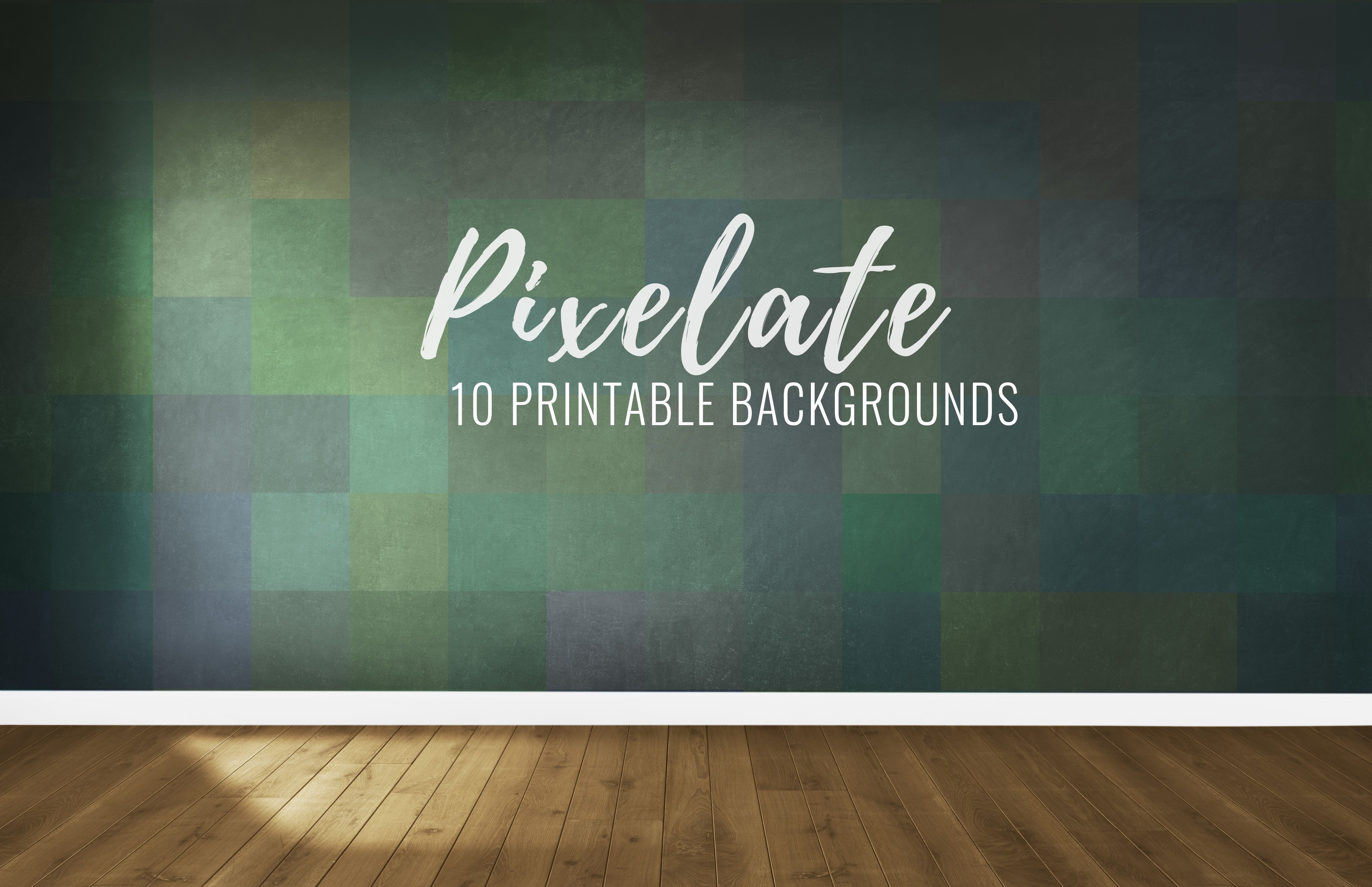 10 Pixelated Printable Backgrounds Screenshot 3