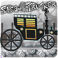 Steam Trucker Game - Buildbox Template