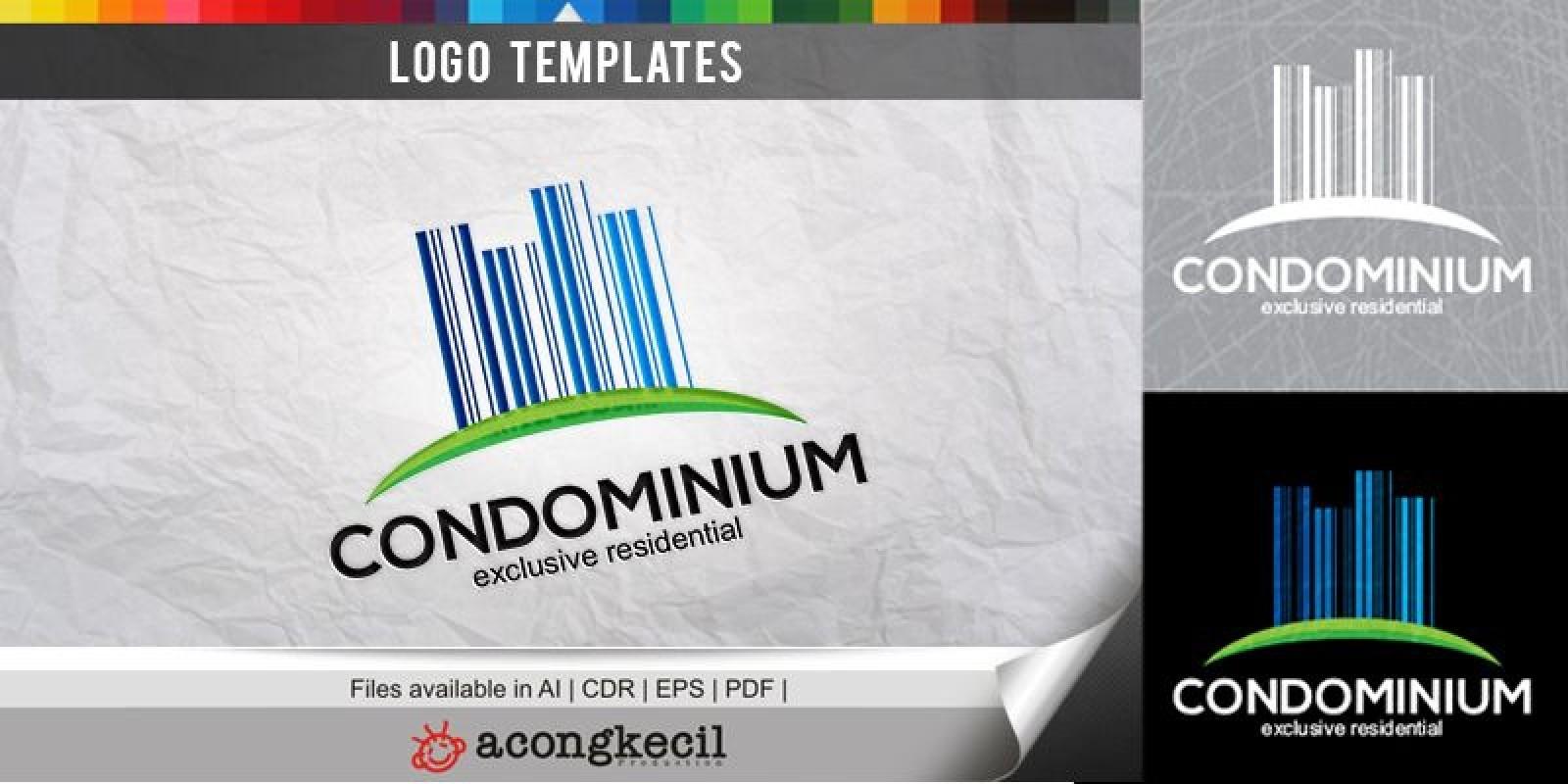 condominium logo template building logo templates