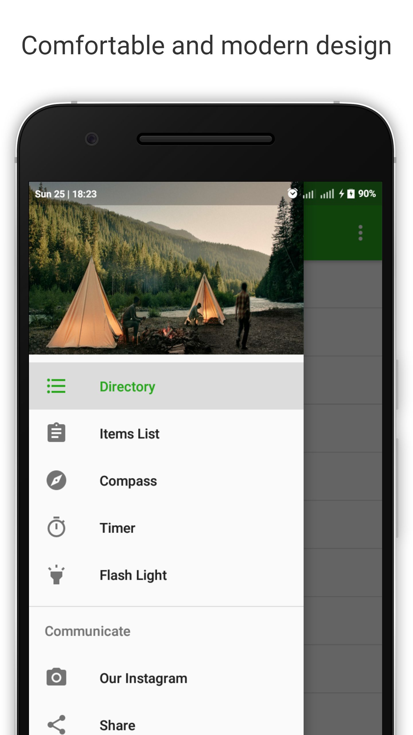 Tools For Tourism - Android Template Screenshot 1