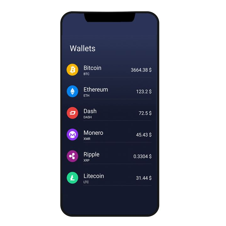 CryptoWallet - Crypto Tracker Android Template Screenshot 2