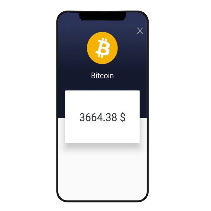 CryptoWallet - Crypto Tracker Android Template Screenshot 3