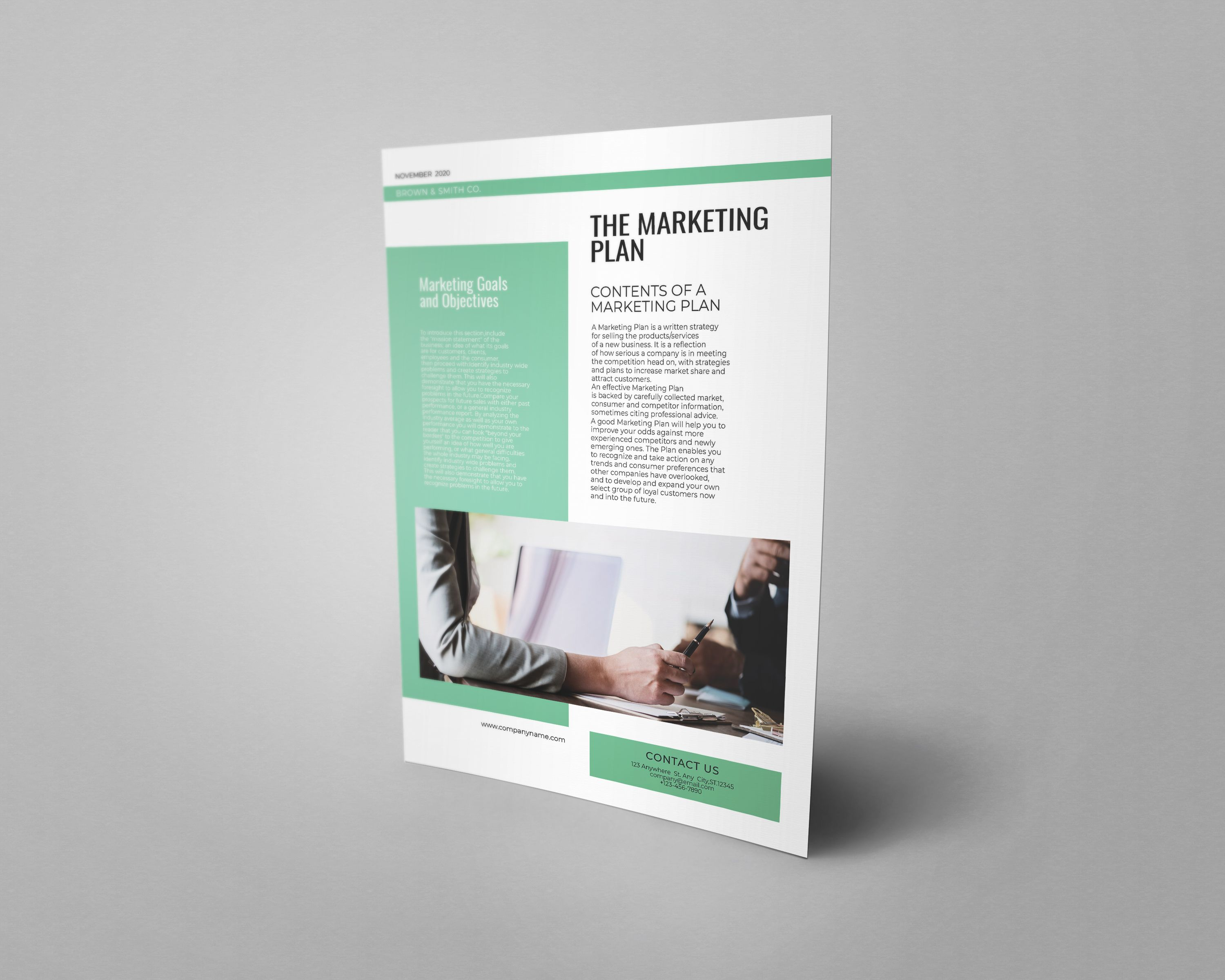 Professional Marketing Flyer Template A4 Screenshot 5