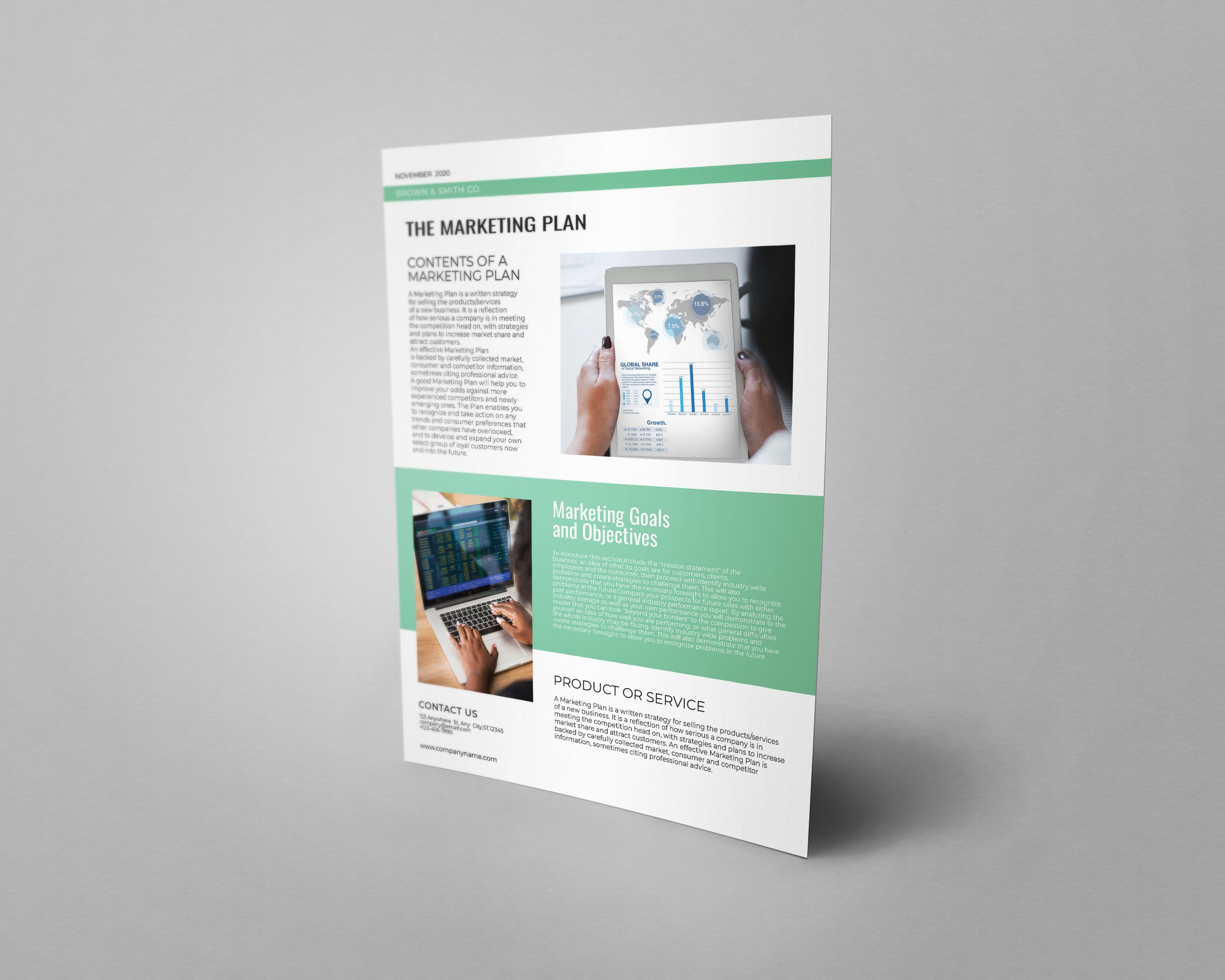 Professional Marketing Flyer Template A4 Screenshot 6