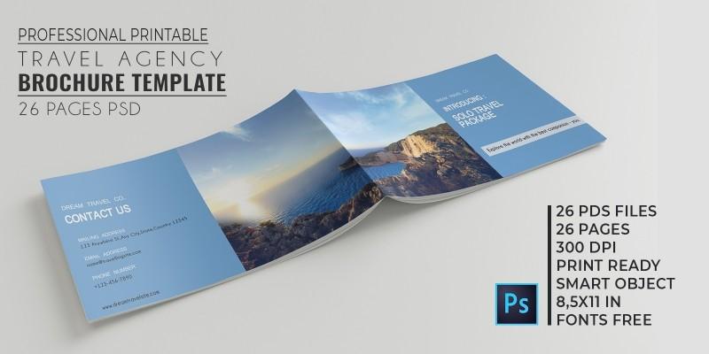 Travel Agency Brochure Catalog Codester