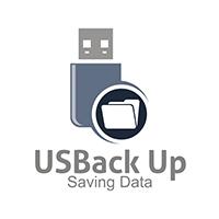 USBackUp - Logo Template