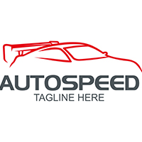 AutoSpeed - Logo Template