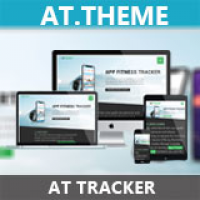 AT Tracker - Responsive App Joomla Template