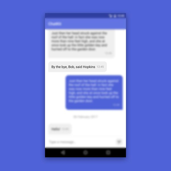 Android ChatKit - Android Studio Chat UI Kit